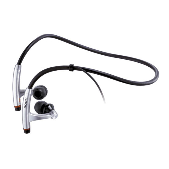 Sony Spiral Neck-Band Headphones