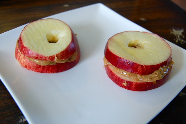 Apple and Nut Butter Sandwiches