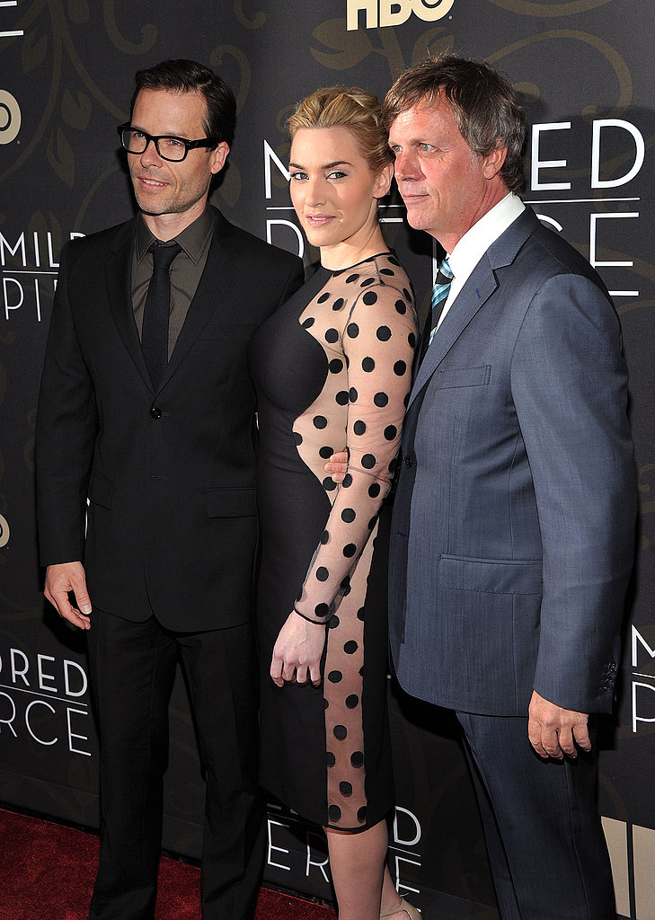 Guy Pearce, Kate Winslet and Todd Haynes