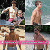 Pictures of Shirtless Brad Pitt, Robert Pattinson, Ryan Phillippe