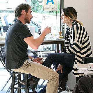 Pictures of Drew Barrymore Eating Lunch With Boyfriend Will Kopelman