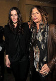 Liv and Steven Tyler at the LA Premiere of Super