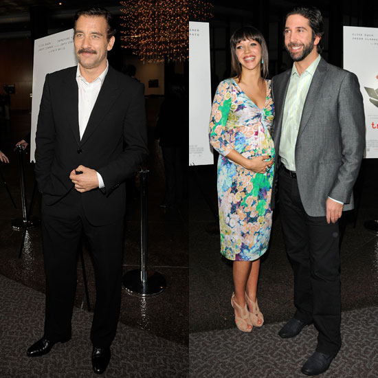 Pictures of Clive Owen, Catherine Keener, David Schwimmer, and Pregnant Zoe Buckman at the LA Premiere of Trust