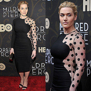 Kate Winslet Wears Sheer Stella McCartney Dress in New York City