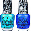 Sneak Peek! First Look at OPI's New Blue Shatter Nail Polishes!
