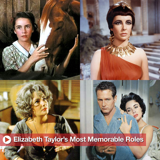 Elizabeth Taylor's Most Memorable Movie Roles