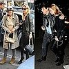 Pictures of Kate Moss and Jamie Hince in London For a Kills Show