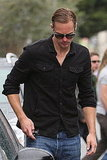 Alexander Skarsgard Looks Hot For His Late Meal
