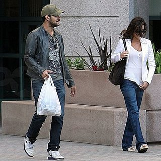 Pictures of New Mom Penelope Cruz Out in LA With Her Younger Brother Eduardo