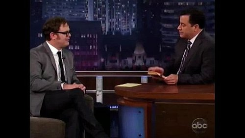 Rainn Wilson Brings His Superhero Character From His New Movie to the Streets of Austin