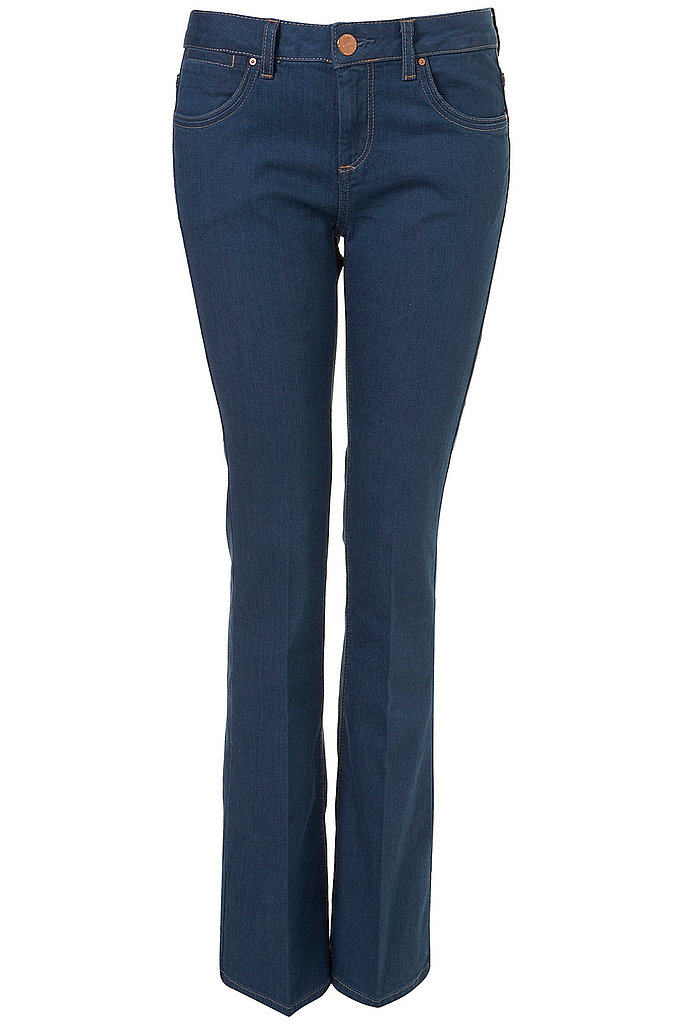 You can't start Spring without a pair of flared jeans. We love the clean wash on these Topshop MOTO Flared Jeans ($85).