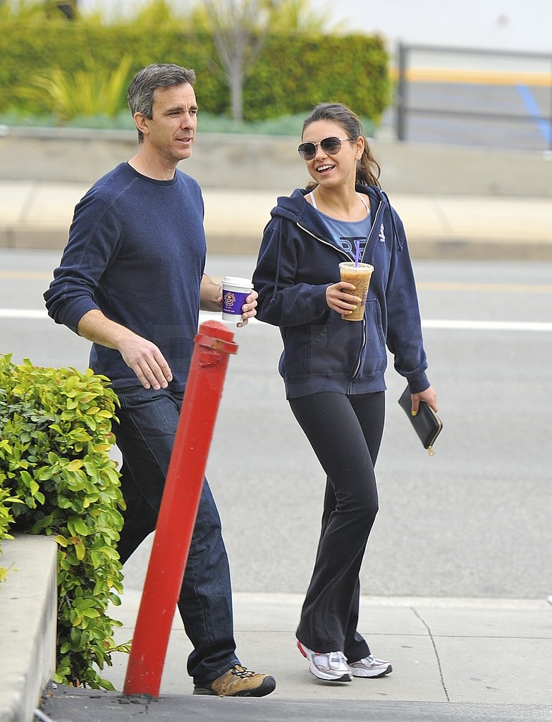 Mila Sticks to Her Routine Ahead of a Reunion With Her Friend Justin