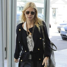 Pictures of Gwyneth Paltrow Leaving Heathrow