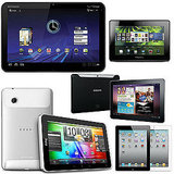 Apple iPad 2 vs. BlackBerry Playbook vs. Motorola Xoom vs. HTC Flyer vs. Samsung Galaxy Tab