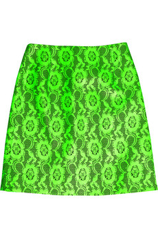 A worthy investment piece for the true grunge enthusiast. Christopher Kane Laser-Cut Leather Skirt ($1,775)