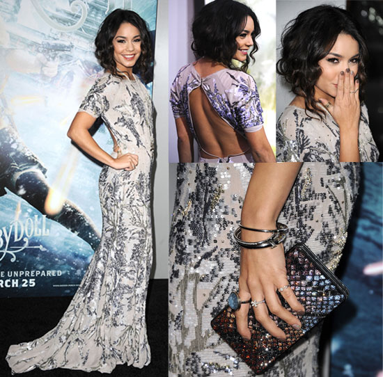 Catch Vanessa Hudgens's Beautiful Sucker Punch LA Premiere Look — From All Angles!