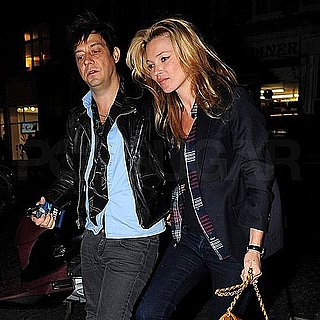 Pictures of Kate Moss and Jamie Hince Leaving a The Kills Show in London