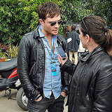 Ed Westwick Works His Ladies' Man Status in Melbourne