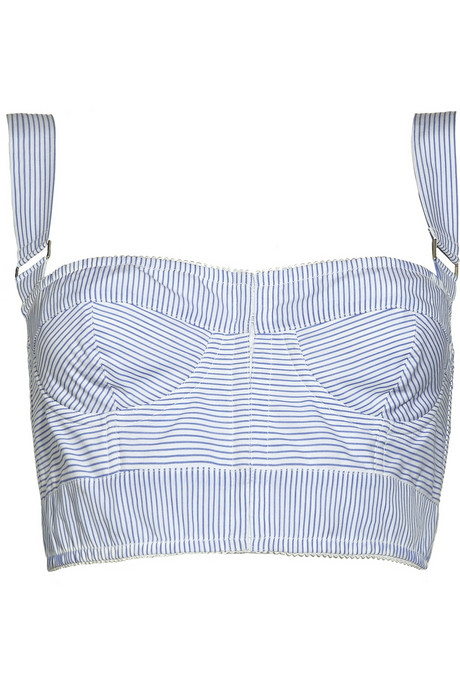Dolce & Gabbana Striped Corset Top ($119, originally $790)