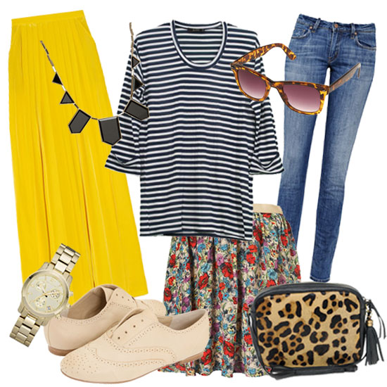 One Simple Striped Shirt, Styled Up Seven Fabulous Ways