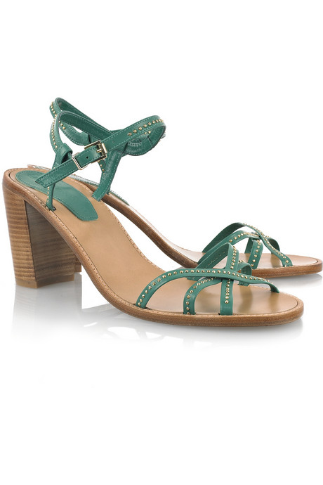 Vanessa Bruno Studded Sandals ($55, originally $365)