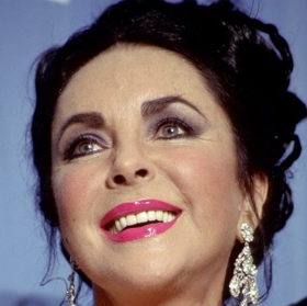 Elizabeth Taylor Fashionably Late to Funeral