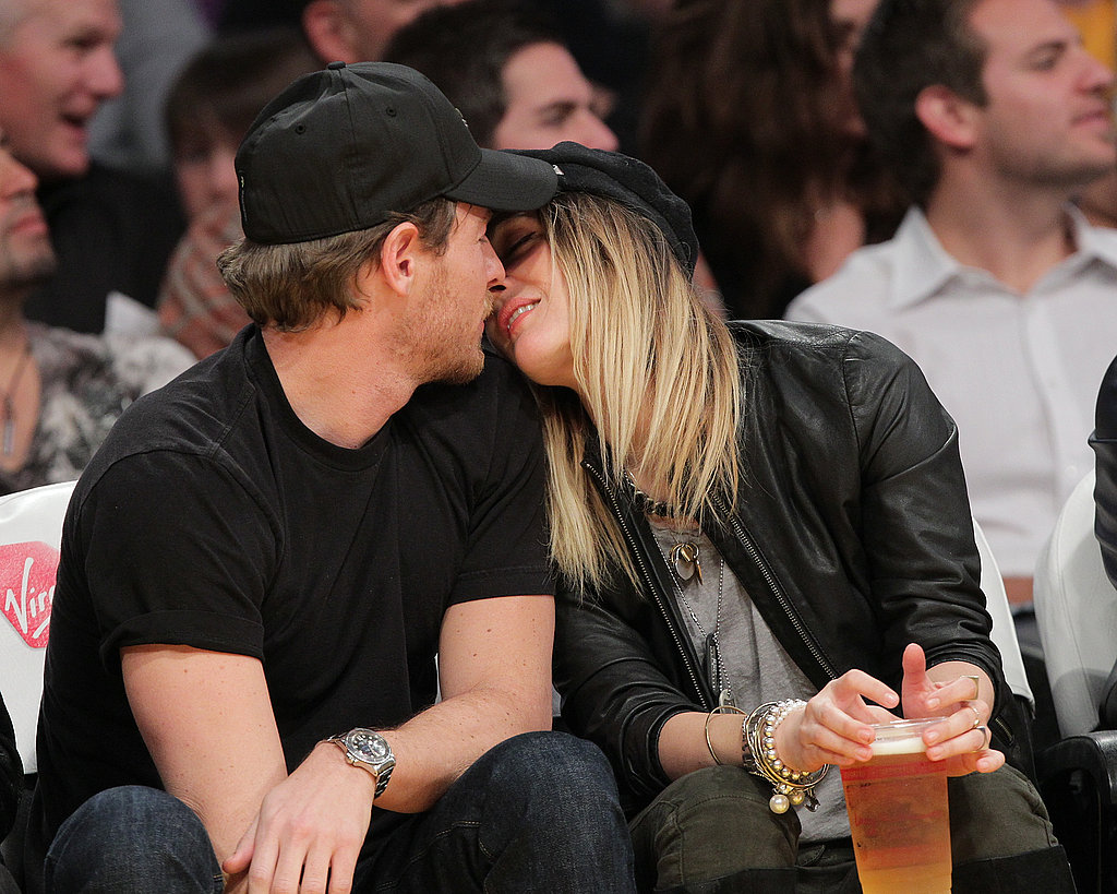 Drew Barrymore Kisses Her New Man, Will Kopelman, Through a Lakers Game!