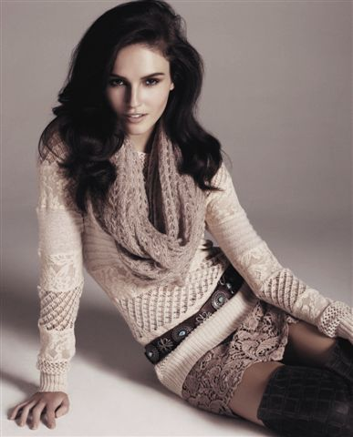 First Look! See Amanda Ware in Portmans UP Magazine: Watch Out Abbey Lee Kershaw!