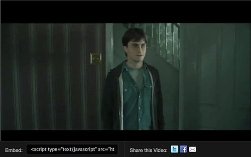 Watch a Harry Potter and The Deathly Hallows Part I Deleted Scene Between Harry and Aunt Petunia
