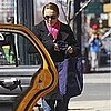Pictures of Pregnant Natalie Portman in NYC With Fiancé Benjamin Millepied