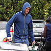 Pictures of Alexander Skarsgard Shopping Solo in LA