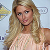 Paris Hilton in a Chanel Pearl Necklace