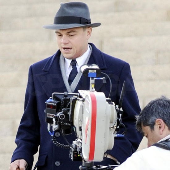 Leonardo DiCaprio and Armie Hammer Take J. Edgar to Virginia