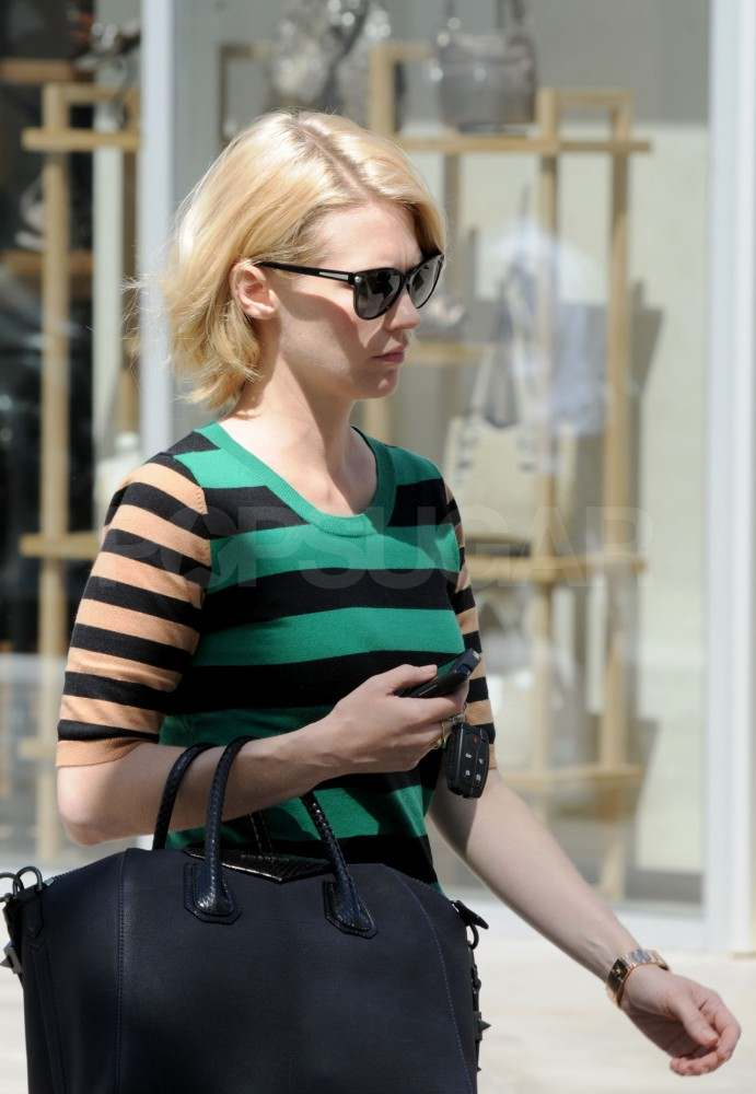 January Jones Is On the Go as Mad Men Gets Picked Up For a Fifth Season