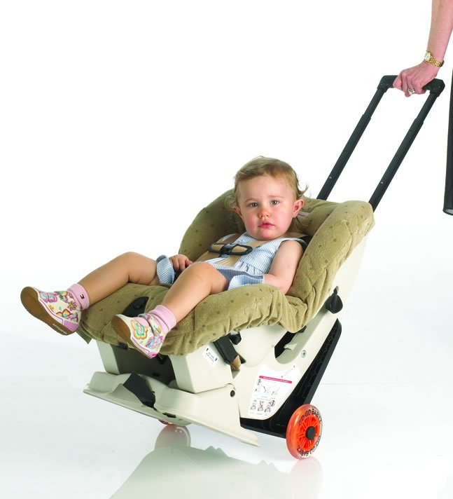 A Car Seat Carrier/Stroller Combination
