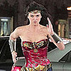 Pictures of Adrianne Palicki as Wonder Woman on Set in LA