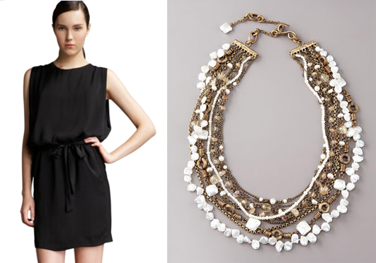 10 Modern LBD+Pearl Combinations