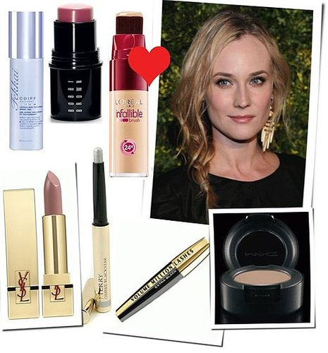 Steal Her Style: How to Get Diane Kruger's Green Auction: A Bid To Save the Earth Beauty Look