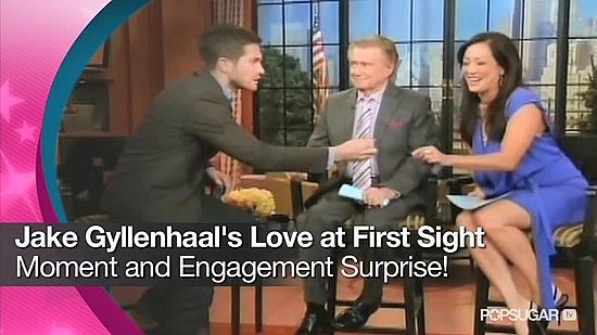 Video: Jake Gyllenhaal's Love-at-First-Sight Moment and Engagement Surprise!
