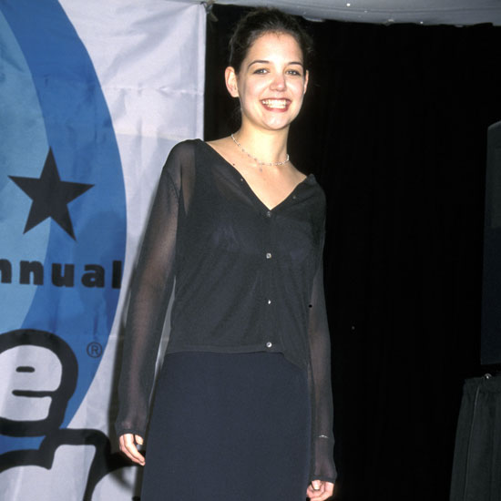 Katie Holmes attended the show in 1998 during her days on Dawson's Creek.