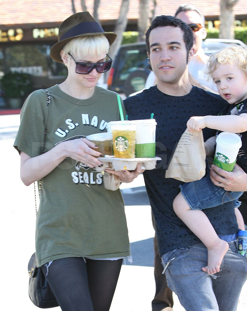 Ashlee Simpson and Pete Wentz Spend a Sunny Day With Bronx