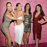 Pictures of Alessandra Ambrosio, Adriana Lima, Miranda Kerr, and Candice Swanepoel at a Victoria's Secret Party 2011-03-31 06:29:15