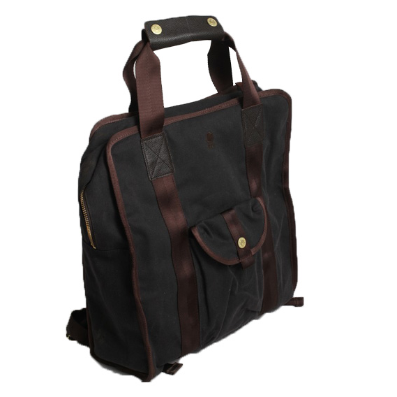 Brooklyn Industries Waxed Canvas Backpack ($94)