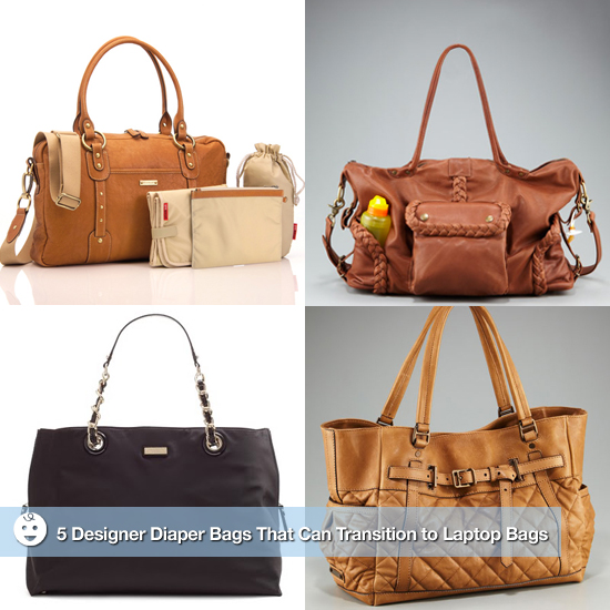 5 Designer Diaper Bags That Can Transition to Laptop Bags