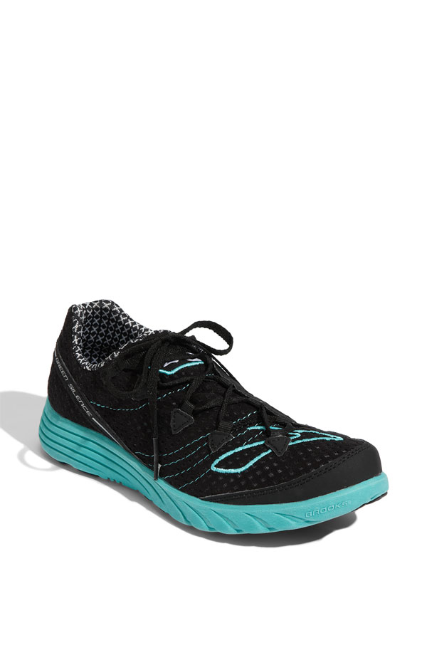 Brooks Green Silence Shoe