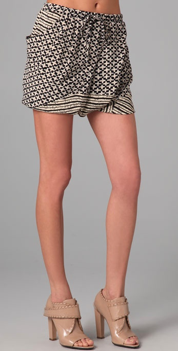 Thakoon Addition Layered Shorts ($390)
