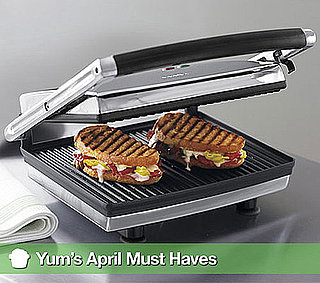 Krups Panini Grill, Jonathan Waxman's New Cookbook, and Other Top April 2011 Picks