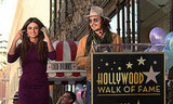 Penelope Cruz Gets Her Hollywood Walk of Fame Star With Javier and Johnny by Her Side!