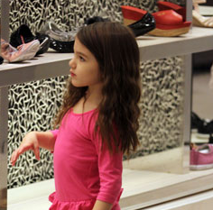 Suri Cruise Launching the World's First Haute Couture Collection For Kids!
