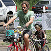 Pictures of Jack Johnson and His Son Riding Bikes in Hawaii